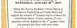 Mary's Dine and Donate